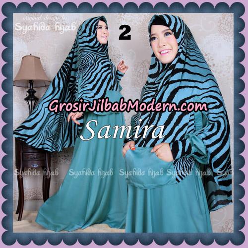Setelan Gamis Syari Samira Original By Syahida Brand No 2