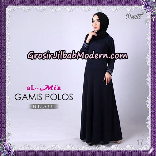 Gamis Polos Busui Cantik Original By Almia Brand No 17