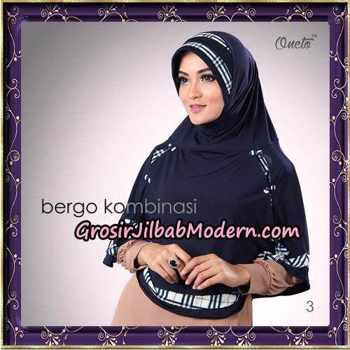 Hijab Bergo Kombinasi Original By Oneto Hijab Brand No 3