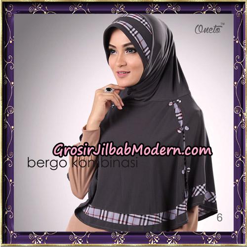 Hijab Bergo Kombinasi Original By Oneto Hijab Brand No 6