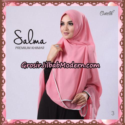Hijab Syari Khimar Salma Premium Original By Rizky Ananda No 3