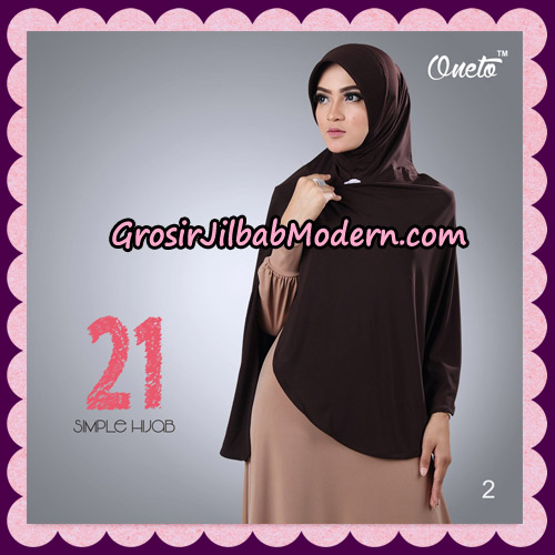 Jilbab Instant Bergo Simple Hijab Seri 21 By Firza Hijab Support Oneto No 2