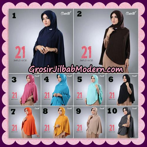 Jilbab Instant Bergo Simple Hijab Seri 21 By Firza Hijab Support Oneto