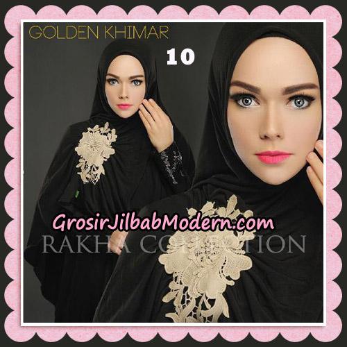 Jilbab Instant Golden Khimar Original By Rakha Hijab Brand No 10