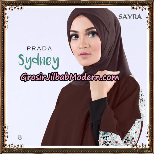Jilbab Instant Prada Sydney Original By Sayra Hijab Brand No 8