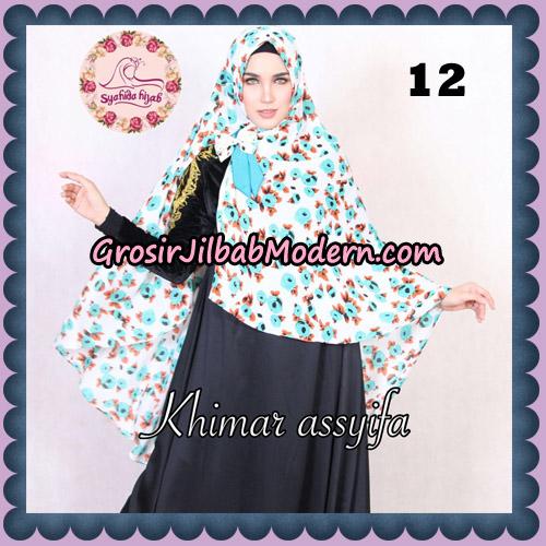 Jilbab Syari Khimar Assyifa Original By Syahida Brand No 12