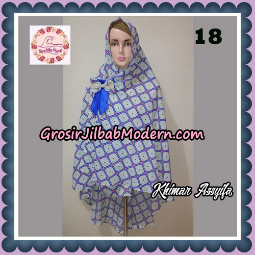 Jilbab Syari Khimar Assyifa Original By Syahida Brand No 18