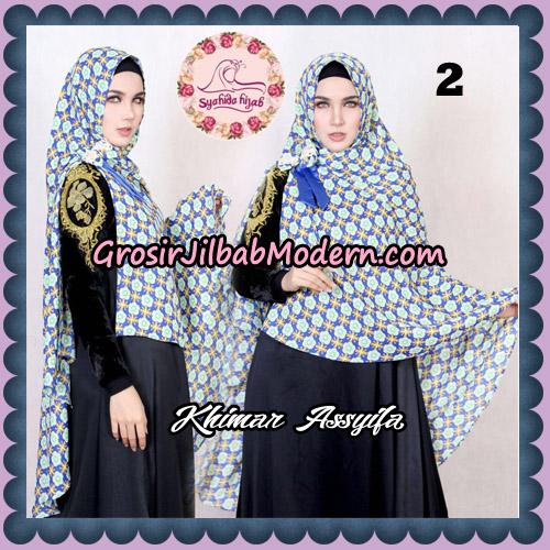Jilbab Syari Khimar Assyifa Original By Syahida Brand No 2