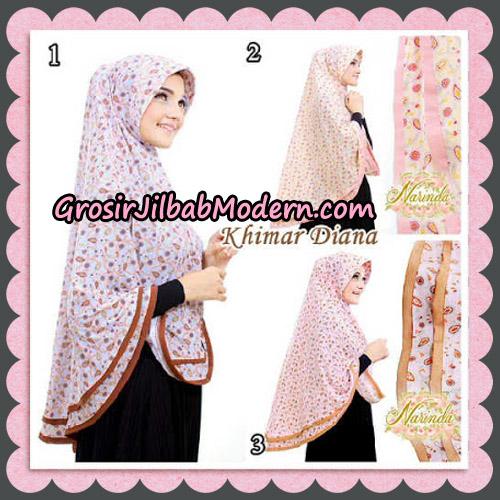 Jilbab Syari Khimar Diana Cantik Original By Narinda Hijab Brand