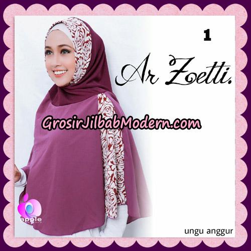 Jilbab Syari Terbaru Khimar Ar Zetti Original By Apple Hijab Brand No 1