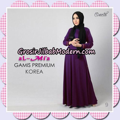 Gamis Premium Korea Cantik Original By Almia Brand No 9