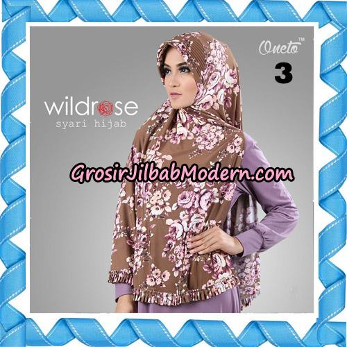 Hijab Syari Wildrose Original By Oneto Hijab Brand No 3