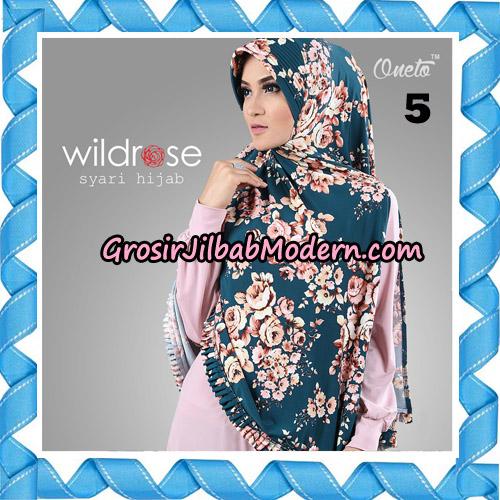 Hijab Syari Wildrose Original By Oneto Hijab Brand No 5