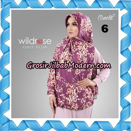 Hijab Syari Wildrose Original By Oneto Hijab Brand No 6