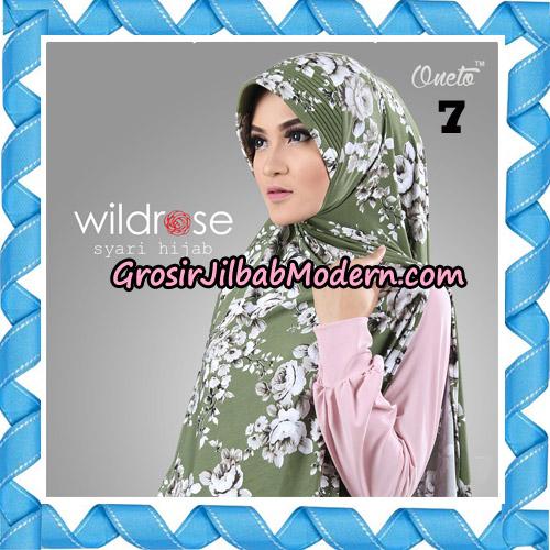 Hijab Syari Wildrose Original By Oneto Hijab Brand No 7