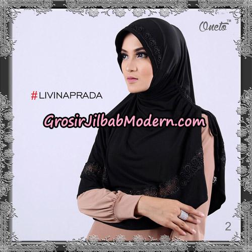 Jilbab Bergo Livina Prada Original By Oneto Hijab Brand No 2