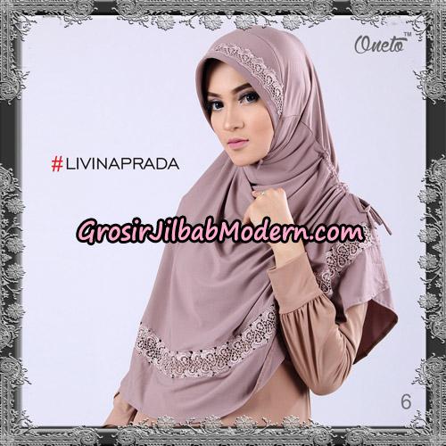 Jilbab Bergo Livina Prada Original By Oneto Hijab Brand No 6
