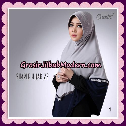 Jilbab Bergo Simple Hijab Seri 22 By Firza Hijab Support Oneto NO 1