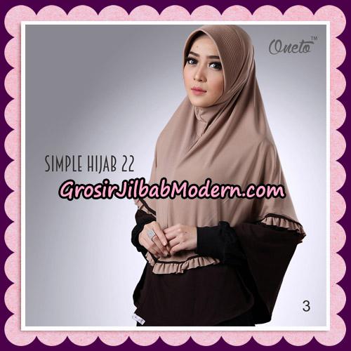 Jilbab Bergo Simple Hijab Seri 22 By Firza Hijab Support Oneto No 3