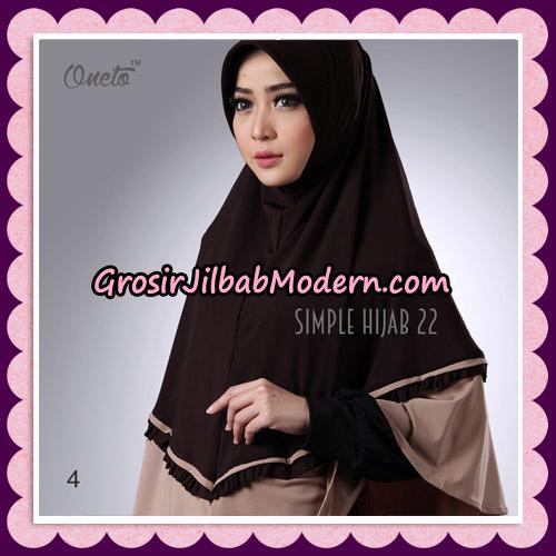 Jilbab Bergo Simple Hijab Seri 22 By Firza Hijab Support Oneto No 4