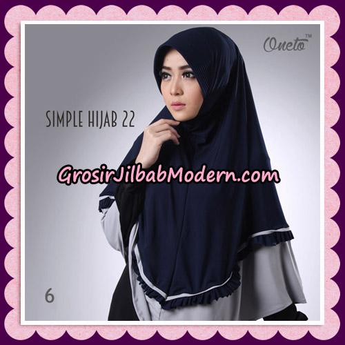 Jilbab Bergo Simple Hijab Seri 22 By Firza Hijab Support Oneto No 6