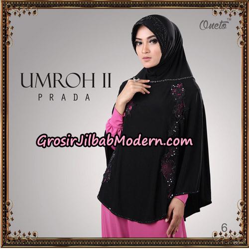 Jilbab Bergo Umroh II Prada Support Oneto Hijab No 6