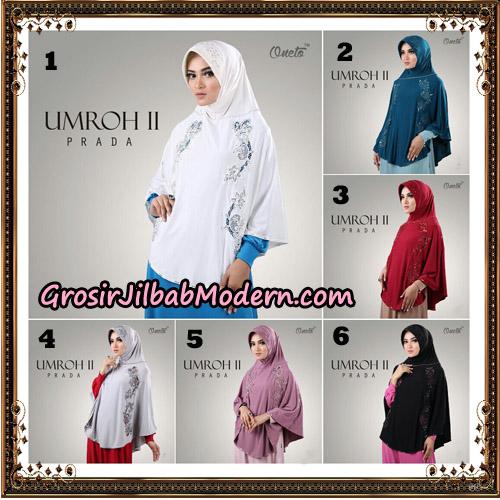 Jilbab Bergo Umroh II Prada Support Oneto Hijab