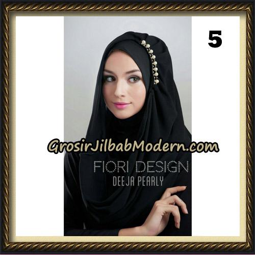 Jilbab Instant Deeja Pearly Cantik Original by Fiori Design No 5