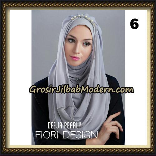 Jilbab Instant Deeja Pearly Cantik Original by Fiori Design No 6