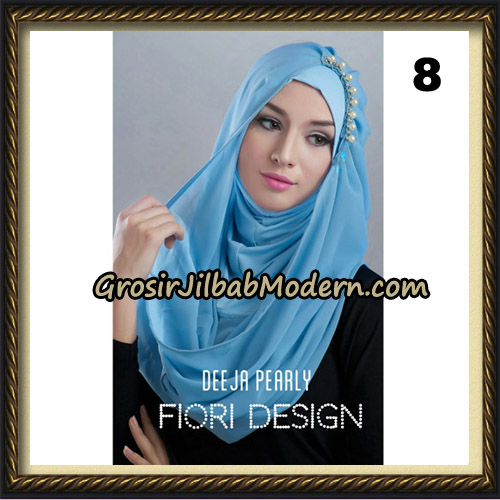 Jilbab Instant Deeja Pearly Cantik Original by Fiori Design No 8