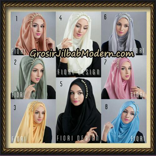 Jilbab Instant Deeja Pearly Cantik Original by Fiori Design