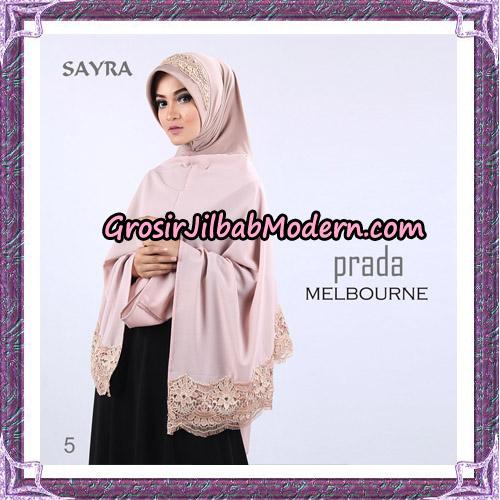 Jilbab Instant Prada Melbourne Original By Sayra Hijab Brand No 5