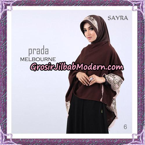 Jilbab Instant Prada Melbourne Original By Sayra Hijab Brand No 6