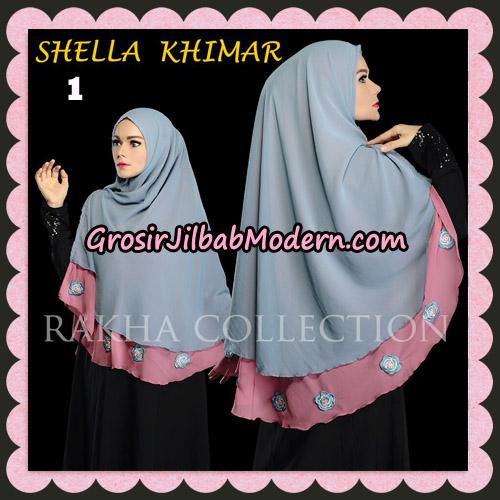 Jilbab Instant Shella Khimar Original By Rakha Hijab Brand No 1