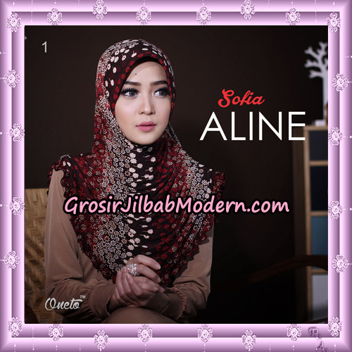 Jilbab Instant Sofia Aline Original By Oneto Hijab Brand No 1