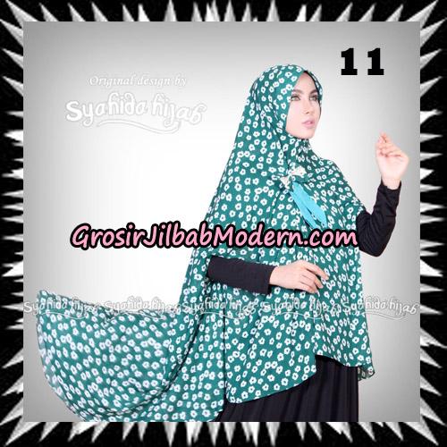 Jilbab Khimar Cardy Sabiha Original By Syahida Brand No 11