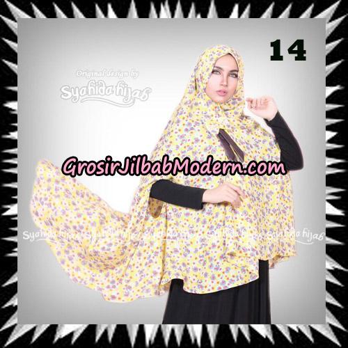 Jilbab Khimar Cardy Sabiha Original By Syahida Brand No 14