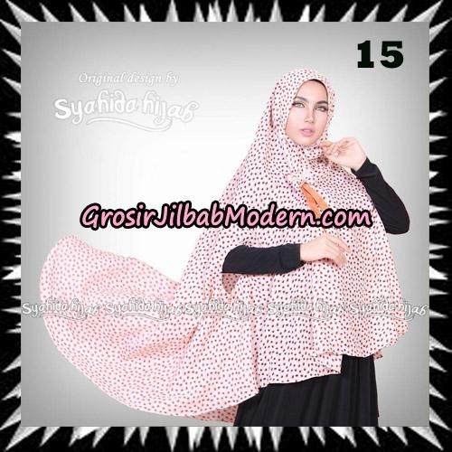 Jilbab Khimar Cardy Sabiha Original By Syahida Brand No 15
