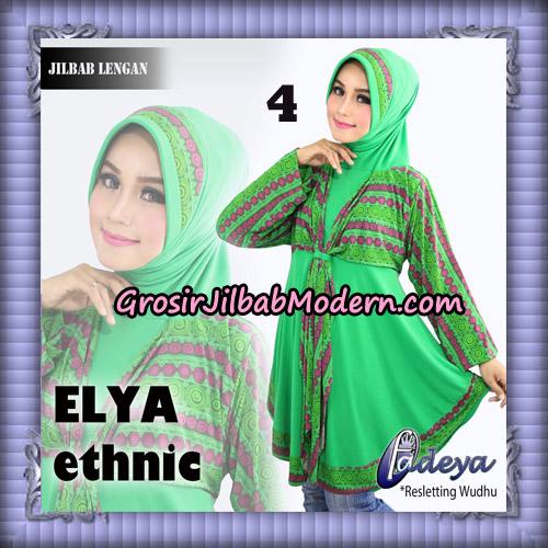 Jilbab Lengan Tunik Elya Ethnic Original By Fadeya Brand No 4
