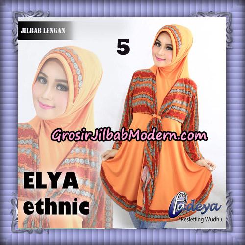 Jilbab Lengan Tunik Elya Ethnic Original By Fadeya Brand No 5