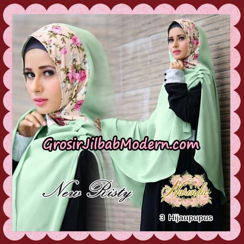 Jilbab Syari New Risty Khimar Original By Narinda Hijab Brand No 3