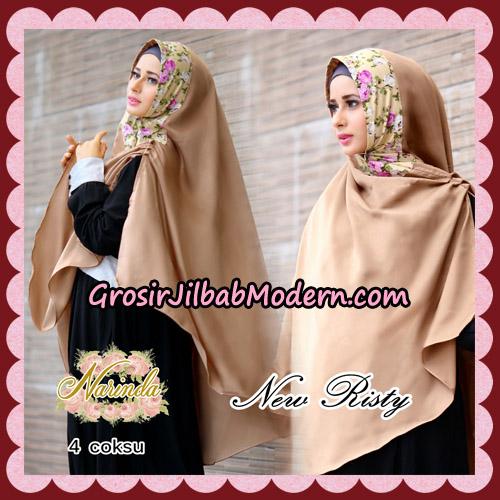Jilbab Syari New Risty Khimar Original By Narinda Hijab Brand No 4