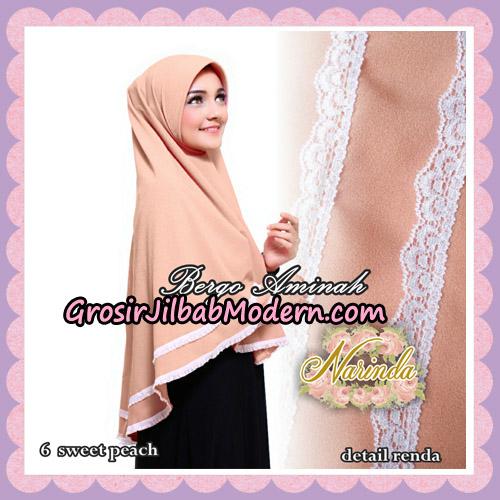 Jilbab Bergo Aminah Original By Narinda Hijab Brand No 6