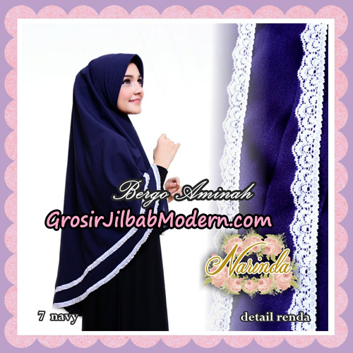 Jilbab Bergo Aminah Original By Narinda Hijab Brand No 7