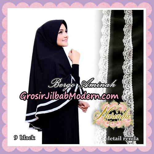 Jilbab Bergo Aminah Original By Narinda Hijab Brand No 9