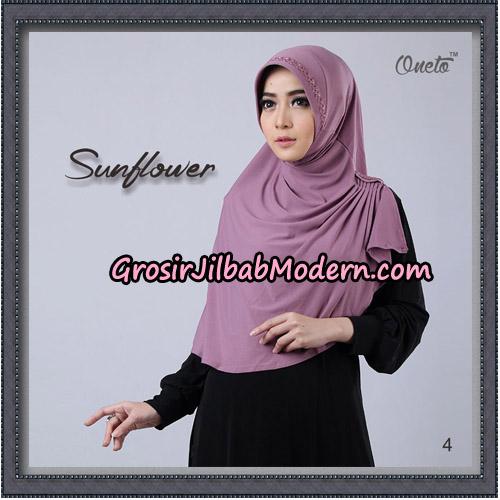 Jilbab Cantik Bergo Sunflower Original By Oneto Hijab Brand No 4