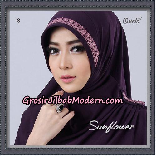 Jilbab Cantik Bergo Sunflower Original By Oneto Hijab Brand No 8