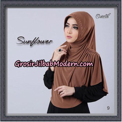 Jilbab Cantik Bergo Sunflower Original By Oneto Hijab Brand No 9