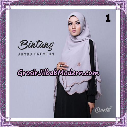 Jilbab Cantik Khimar Bintang Jumbo Premium Original By Oneto Hijab Brand No 1