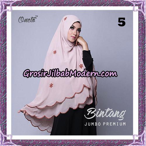 Jilbab Cantik Khimar Bintang Jumbo Premium Original By Oneto Hijab Brand No 5